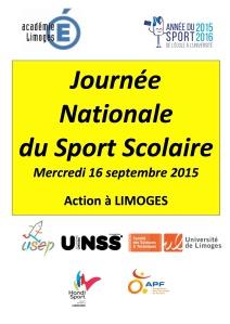 organisation Journée Nationale UNSS